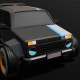 Russian Cyber Car - HexagoN